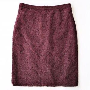 BANANA REPUBLIC   Lace Skirt